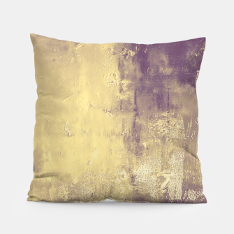 Thumbnail image of Purple Abstract Pillow, Live Heroes