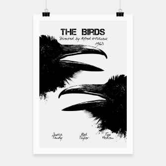 Miniature de image de The Birds by Alfred Hitchcock Plakat, Live Heroes