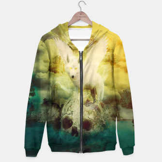 Thumbnail image of The White Wolf Hoodie, Live Heroes