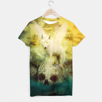 Thumbnail image of The White Wolf T-shirt, Live Heroes