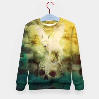 Thumbnail image of The White Wolf Kid's Sweater, Live Heroes