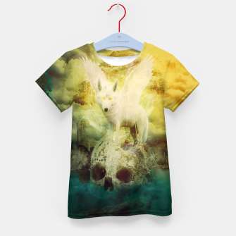 Thumbnail image of The White Wolf Kid's T-shirt, Live Heroes