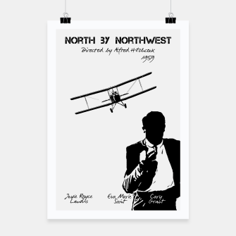 Miniaturka North by Northwest by Alfred Hitchcock Plakat, Live Heroes