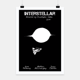 Miniaturka Interstellar by Christopher Nolan Plakat, Live Heroes