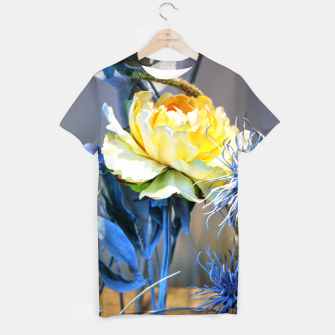Thumbnail image of Artificial Yellow Flower T-shirt, Live Heroes