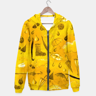 Thumbnail image of Yellow Fall Hoodie, Live Heroes