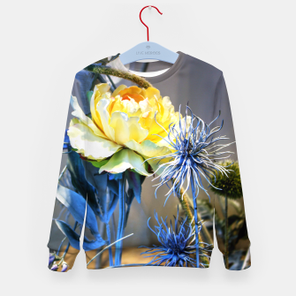 Thumbnail image of Artificial Yellow Flower Enfantin Sweat-shirt, Live Heroes
