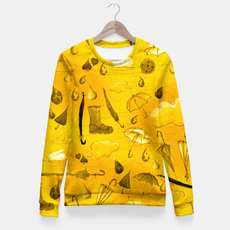 Thumbnail image of Yellow Fall Fitted Waist Sweater, Live Heroes