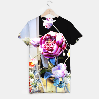 Thumbnail image of Artificial Flowers T-shirt, Live Heroes