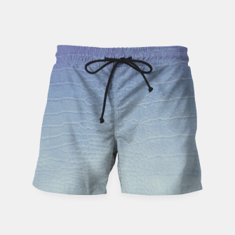 Thumbnail image of Pastel Crocodile Swim Shorts, Live Heroes