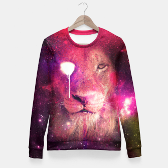 Miniatur Lion Fitted Waist Sweater, Live Heroes