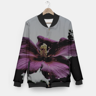 Thumbnail image of pink flower Baseball Jacket, Live Heroes