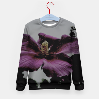 Thumbnail image of pink flower Kid's Sweater, Live Heroes