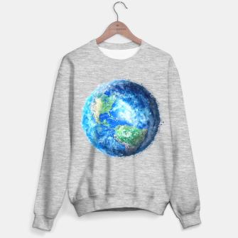 Thumbnail image of Earth Painting Sweater regular, Live Heroes