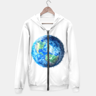 Thumbnail image of Earth Painting Hoodie, Live Heroes