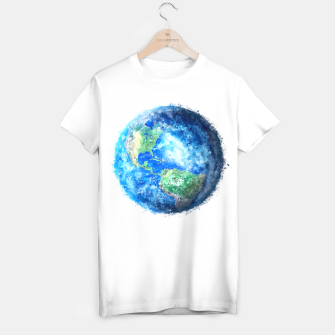 Thumbnail image of Earth Painting T-shirt, Live Heroes