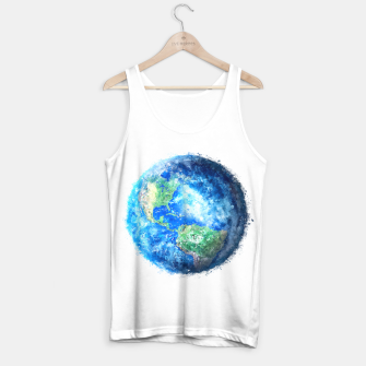 Thumbnail image of Earth Painting Tank Top, Live Heroes