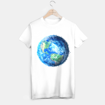 Thumbnail image of Earth Painting T-shirt regular, Live Heroes