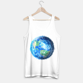 Thumbnail image of Earth Painting Tank Top regular, Live Heroes
