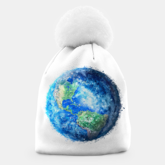 Thumbnail image of Earth Painting Beanie, Live Heroes