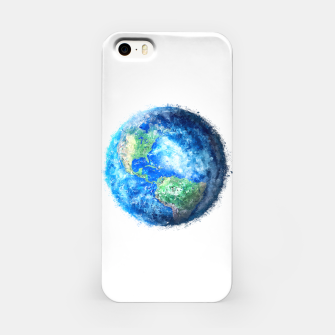 Thumbnail image of Earth Painting iPhone Case, Live Heroes