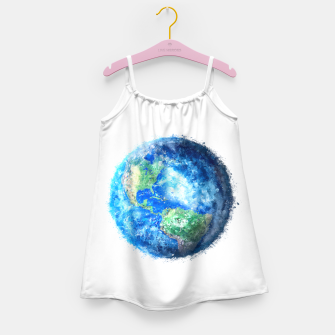 Thumbnail image of Earth Painting Girl's Dress, Live Heroes