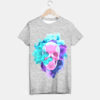 Thumbnail image of Colored Smocking Skull, Live Heroes
