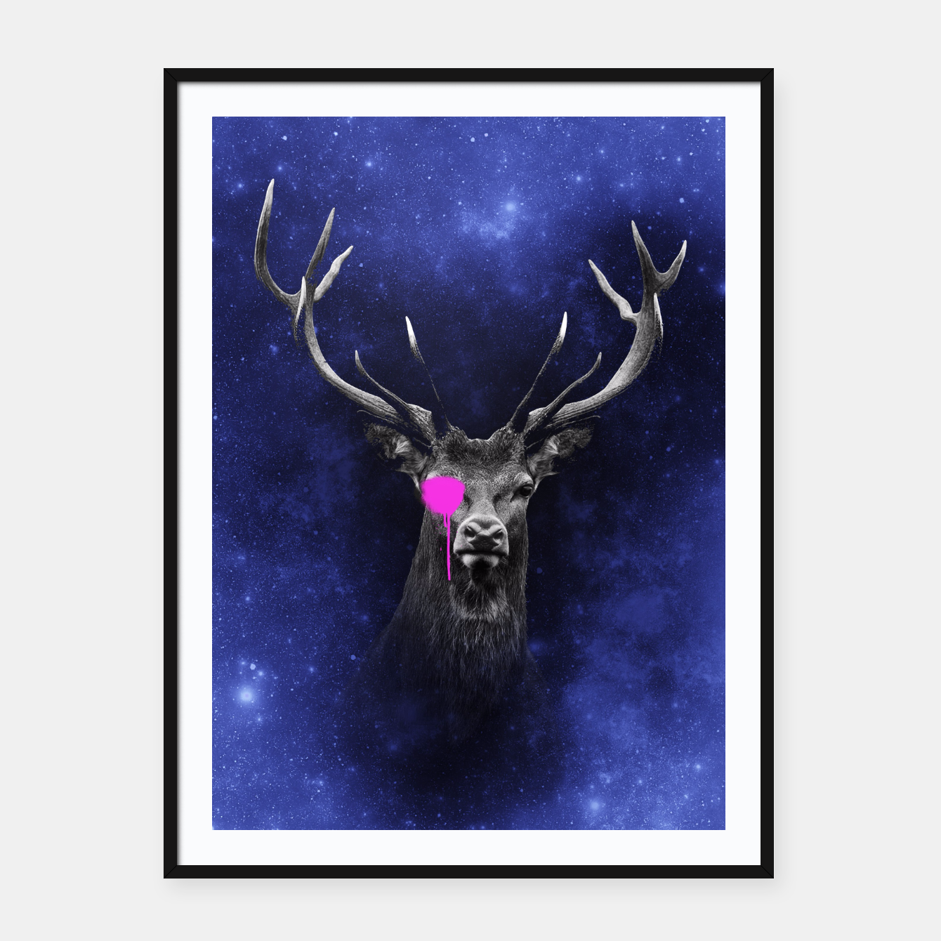 Image of KING STAG Framed poster - Live Heroes