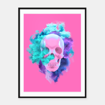 Miniaturka Colored Smocking Skull, Live Heroes