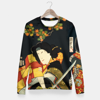 Miniatur  Kabuki Fitted Waist Sweater, Live Heroes