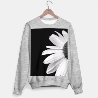 Thumbnail image of Half Daisy In Black And White Sweater regular, Live Heroes