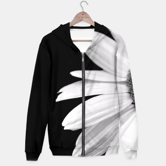 Thumbnail image of Half Daisy In Black And White Hoodie, Live Heroes