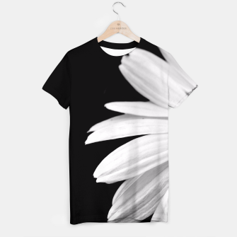 Thumbnail image of Half Daisy In Black And White T-shirt, Live Heroes