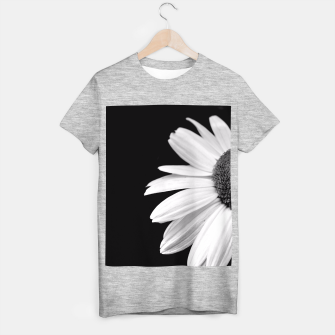 Thumbnail image of Half Daisy In Black And White T-shirt regular, Live Heroes