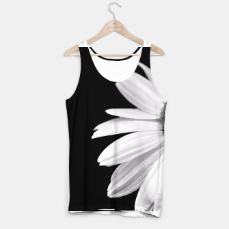 Thumbnail image of Half Daisy In Black And White Tank Top, Live Heroes