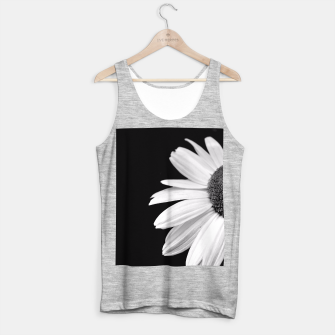 Thumbnail image of Half Daisy In Black And White Tank Top regular, Live Heroes