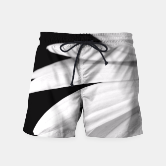 Thumbnail image of Half Daisy In Black And White Swim Shorts, Live Heroes
