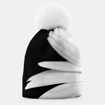 Thumbnail image of Half Daisy In Black And White Beanie, Live Heroes