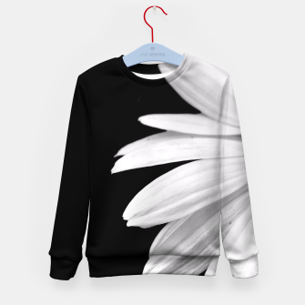Thumbnail image of Half Daisy In Black And White Kid's Sweater, Live Heroes