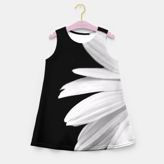 Thumbnail image of Half Daisy In Black And White Girl's Summer Dress, Live Heroes