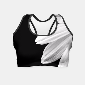 Thumbnail image of Half Daisy In Black And White Crop Top, Live Heroes