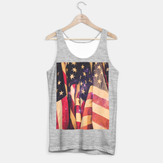 Miniaturka TEAM MERICA Tank Top regular, Live Heroes