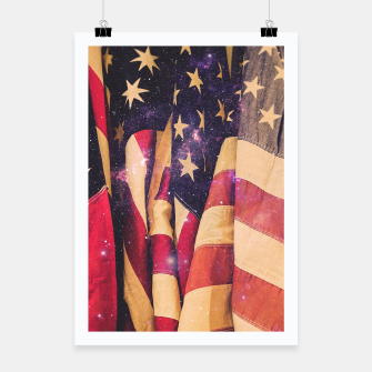 Thumbnail image of TEAM MERICA Poster, Live Heroes