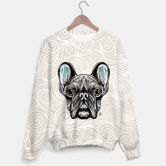 Miniaturka French Bulldog Smilling Sweater, Live Heroes