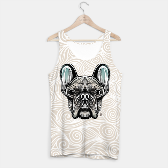 Miniaturka French Bulldog Smilling Tank Top, Live Heroes