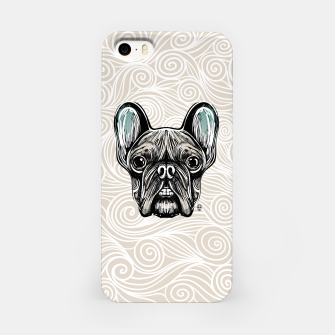 Miniaturka French Bulldog Smilling iPhone Case, Live Heroes