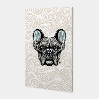 Miniaturka French Bulldog Smilling Canvas, Live Heroes