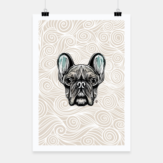 Miniaturka French Bulldog Smilling Poster, Live Heroes