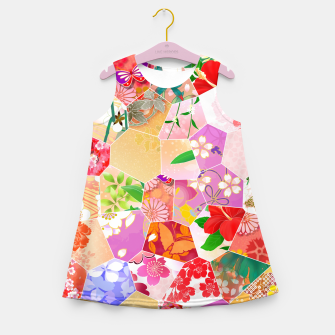 Miniatur Origami Girl's Summer Dress, Live Heroes