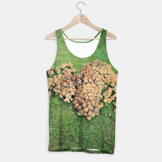 Miniaturka forest mushrooms Tank Top, Live Heroes
